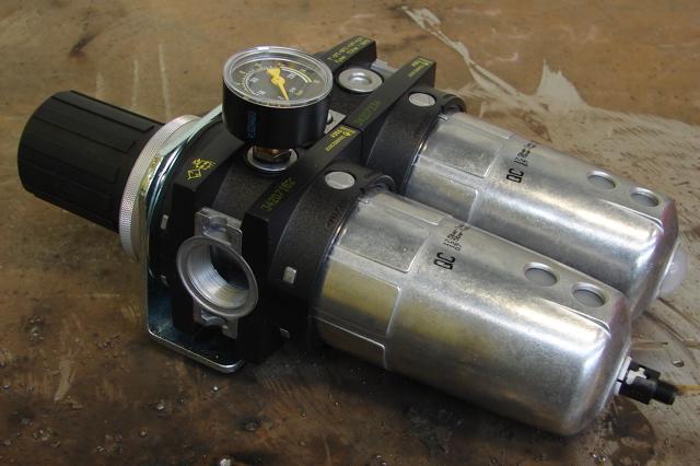 Le filtre à air / huileur